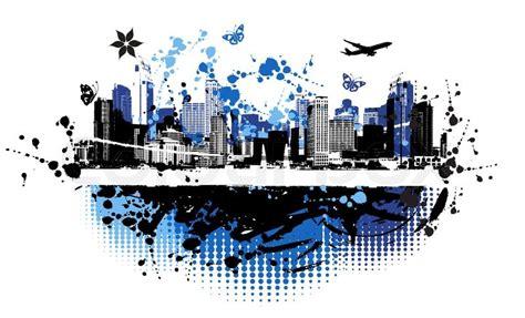 design urban art cityscape background urban art stock vector colourbox