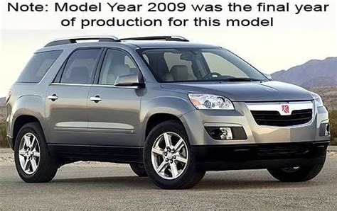how cars work for dummies 2009 saturn outlook security system used 2009 saturn outlook suv pricing features edmunds