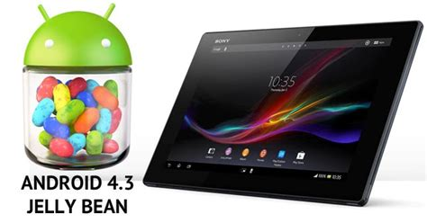 Hp Sony Android Jelly Bean Official Android 4 3 Jelly Bean Aosp Rom For Sony Xperia Z Tablet