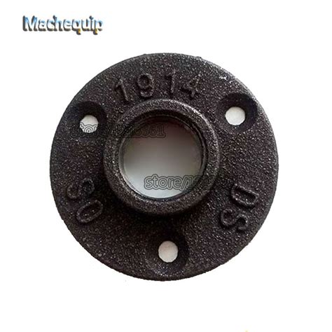 Promo Flange Re dn20 classic cast iron flange antique wall flange seat for 3 4 quot pipe 4pcs lot free shipping on