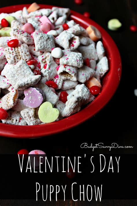 valentines puppy chow s day puppy chow recipe