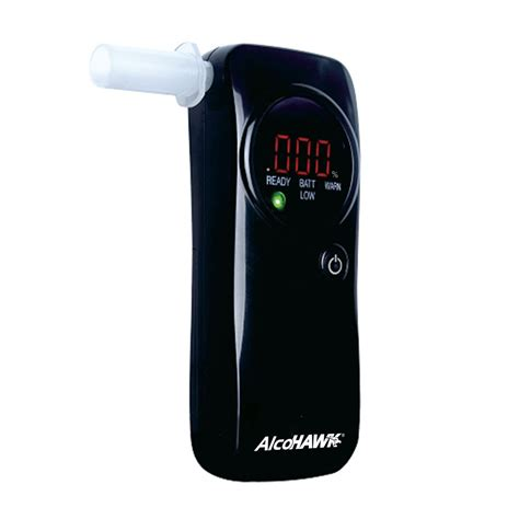 Digital Breath Tester The Alcohawk Slim alcohawk pro fc fuel cell breathalyzer