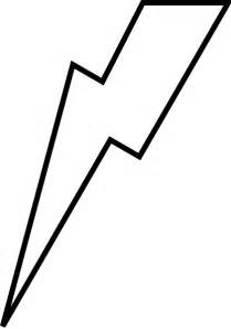 Flash Lightning Bolt Outline by Lightning Bolt Outline Cliparts Co