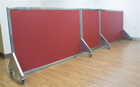 room dividers on wheels doggie day care room divider gate