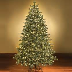 pre lit artificial christmas trees with multi colored