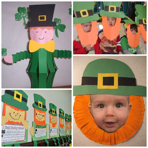 st patricks day kid crafts leprechaun crafts for to make on st patty s day