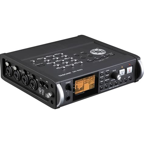 Tascam Dr 70d Professional Field Recorder tascam dr 680 8 track portable field audio recorder dr 680 b h