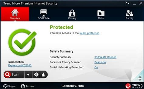 download pattern trend micro trend micro titanium internet security 2013 free download