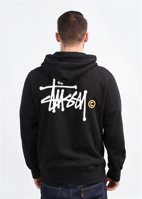 Basic Jacket Hoodie Unisex With Zipper Available In 16 Colou 1 stussy basic logo zip hoody black