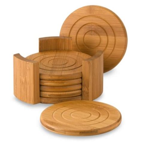 bed bath and beyond coasters buy bamboo coaster from bed bath beyond
