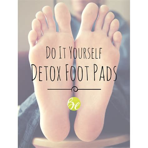 Detox Foot Pads by Do It Yourself Detox Detox Foot Pads Beyouthful