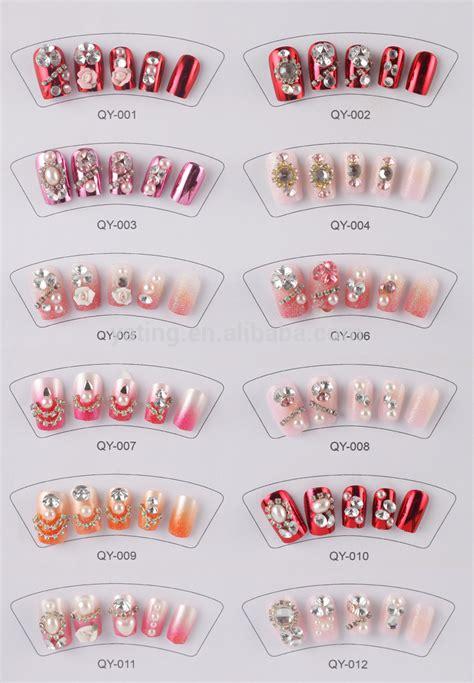 Lem Uv By Digitalmas Co Id pre lem palsu nail 3d glitter desain nail false tips