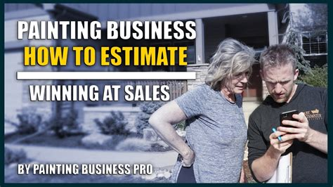 how to estimate painting and sales how to start a painting company painting business