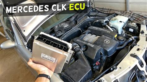 service manual transmission control 2005 mercedes benz clk class head up display 2005 mercedes w208 ecu location removal replacement clk clk200 clk230 clk 320 clk430 youtube