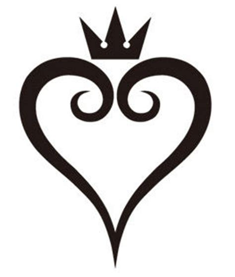 heart tattoo logo kingdom hearts logo by edenco arts d5242v3 png 263 215 311