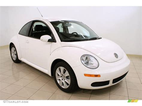 white volkswagen 2009 white volkswagen beetle 2 5 coupe 48328812