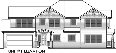 house plans drawings duplex house plans corner lot duplex house plans d 548
