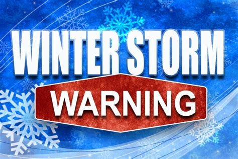 winter storm warning and winter weather advisory in effect until winter storm warning for wayne cedar and dixon counties
