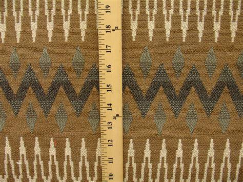 Navajo Upholstery Fabric by Woven Geometric Southwestern Navajo Aztec Tribal
