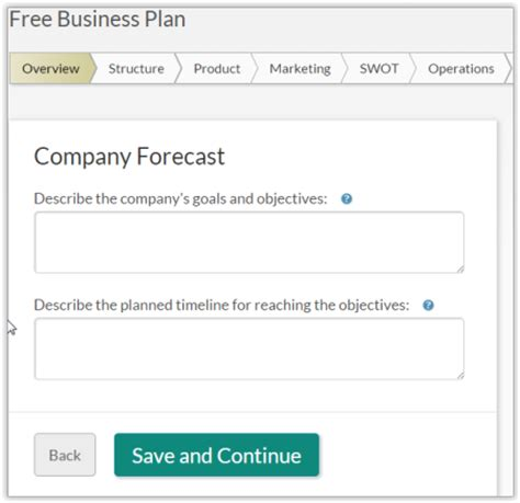 50 best free business plan templates