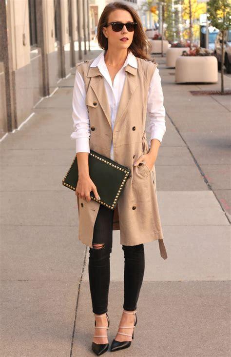 Peny Layer Shirt Dress White best 25 sleeveless trench coat ideas on