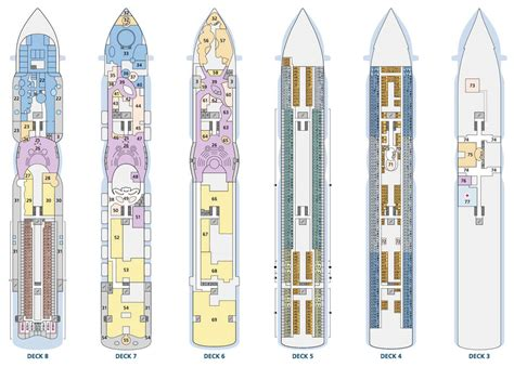 aidaprima kabinenplan aidaperla route news ausstattung vom kreuzfahrtschiff