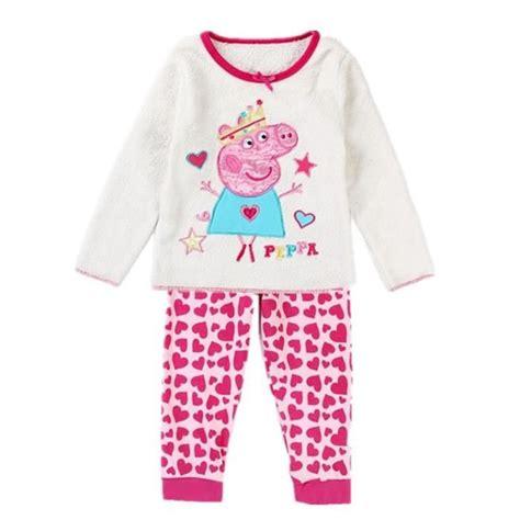 Piyama Peppa Pig by Pyjama Peppa Pig 3 4 Ans Achat Vente Chemise De Nuit