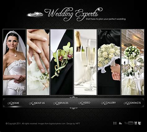 Wedding Experts Template Free From 08 14 08 20 2015 Tonytemplates Marriage Website Templates Free