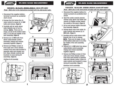 95 toyota avalon radio wiring diagram get free image
