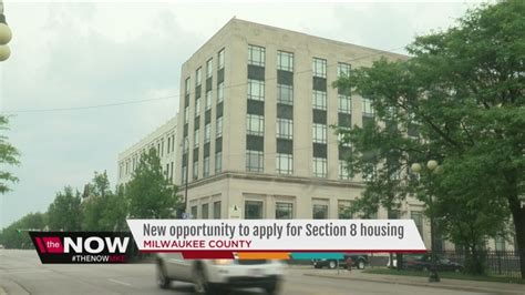 milwaukee housing authority section 8 milwaukee county section 8 housing opens again tmj4