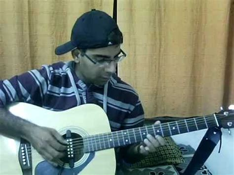 guitar tutorial by vijay kumar nothing else matters from metallica acoustic guitar cover