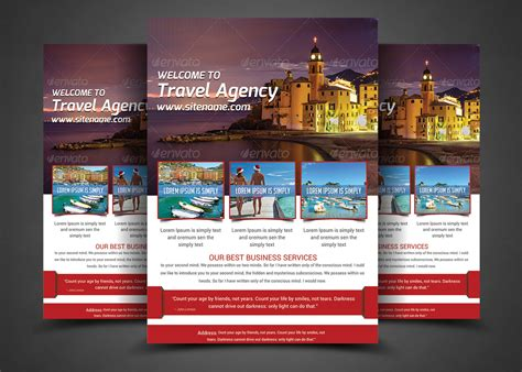 free travel flyer templates 15 travel tourism flyer psd templates graphic cloud