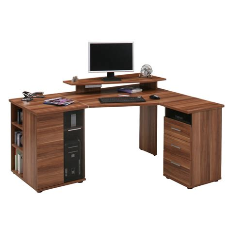 Desks For Two Computers Corner Computer Desks Uk