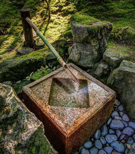 fountain portland japanese garden dave wilson photography