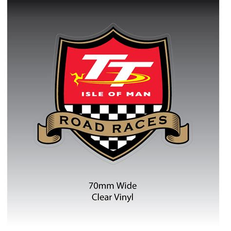 Iom Tt 2016 Original T Shirt Tt Logo Wings Black official isle of tt gold sash sticker