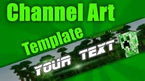 Minecraft Channel Template by Minecraft Channel Template Minecraft