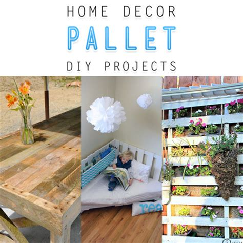 home decor pallet diy projects the cottage market
