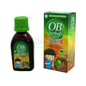 Obat Batuk Ob Herbal Plus Madu jual beli ob herbal junior k24klik