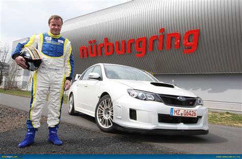 subaru nurburgring ausmotive com 187 subaru impreza wrx sti sedan sets
