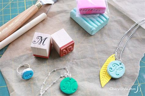 how to make diy polymer clay jewelry cherylstyle