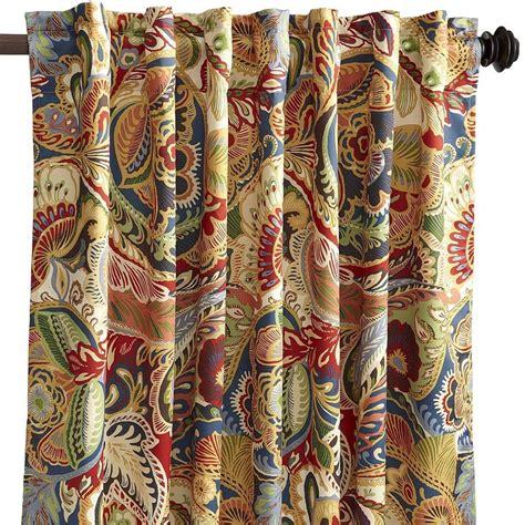 pier one drapes vibrant paisley panel pier one 31 96 office remodle