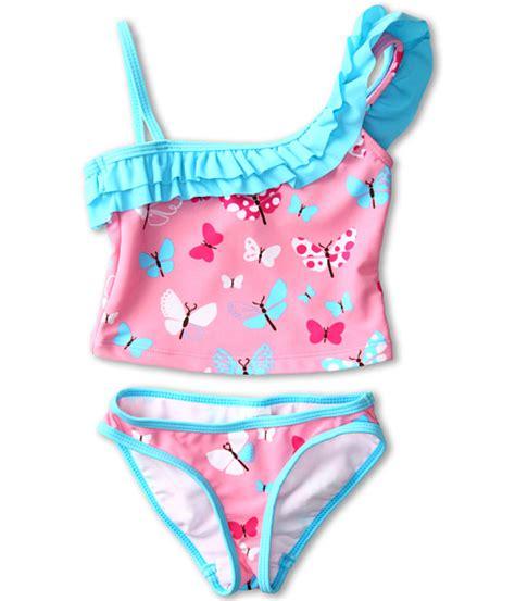 Kids Two Piece Swimwear | hatley kids one shoulder two piece swimsuit toddler