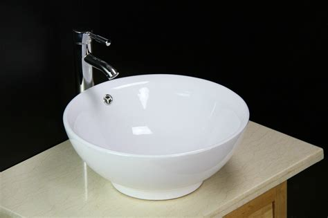 Bowl Sinks For Bathroom by Basin Sink Bowl Countertop Ceramic Bathroom Cloakroom