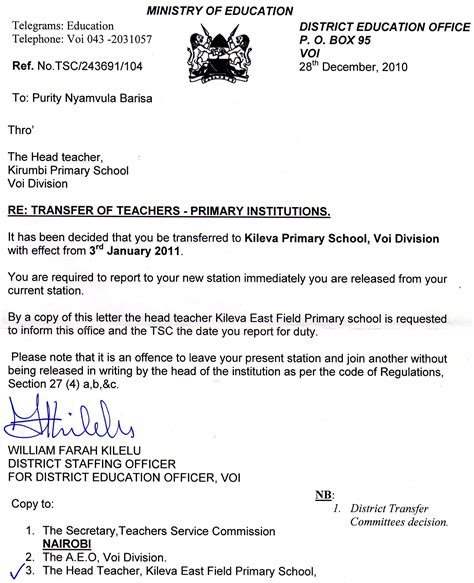 free sle appointment letter for teachers appointment letters and thanks to margaret
