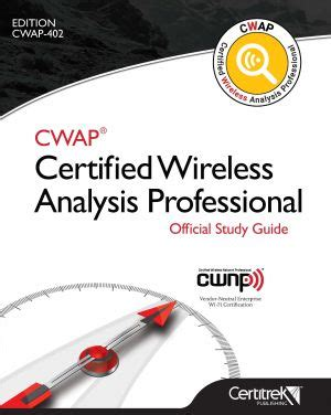 cws 100 certified wireless specialist official study guide books store