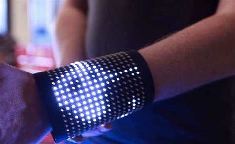 Wearable Lights Fos Wearable Led Display System For Speaking Your Heart