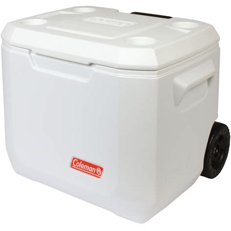 Coleman Cooler Shelf by Coleman 50qt Wheeled Xtreme Marine Cooler 47l Iwoot