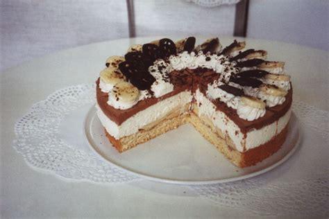 kuchen banane kuchen banane schoko sahne appetitlich foto f 252 r sie