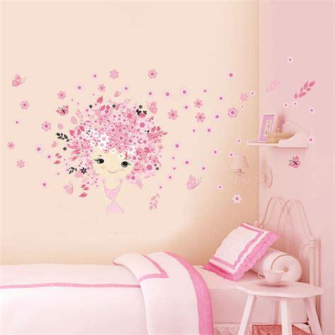 kids girl room decor fairy princess butterly decals vinyl art mural wall sticker ebay