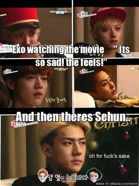 film exo showtime oh my god i cannot sehun poker face for life e x o